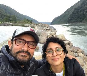 Look where Aamir Khan is currently chilling with his family