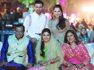 In Pics: Sania Mirza's Sister's Wedding Was A Starry Affair