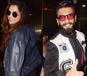 Spotted: Ranveer Says KWK is 'Timepass'; Heads to Dubai With Lady Love Deepika