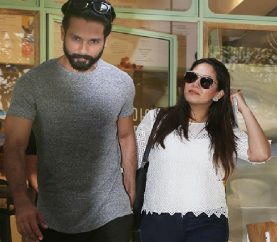 Spotted: Shahid Kapoor & Mira Kapoor Go On A Coffee Date