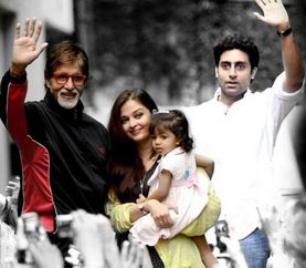 the most beautiful granddaughter in the whole wide world, Big B Wishes GrandDaughter Aaradhya on her 5th birthday