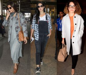 Fashionably Layer Up This Winter. Take Inspiration From Our Bollywood Beauties