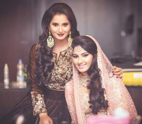In Pics: Sania Mirza's Sister's Wedding Was A Starry Affair, And The Pictures Scream 'Stunning!'