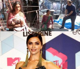 What's Deepika Padukone doing in Mumbai's Dhobi Ghat?