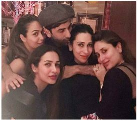 Spotted: Ranbir Kapoor Parties Hard With Sisters At Grandmom's Place