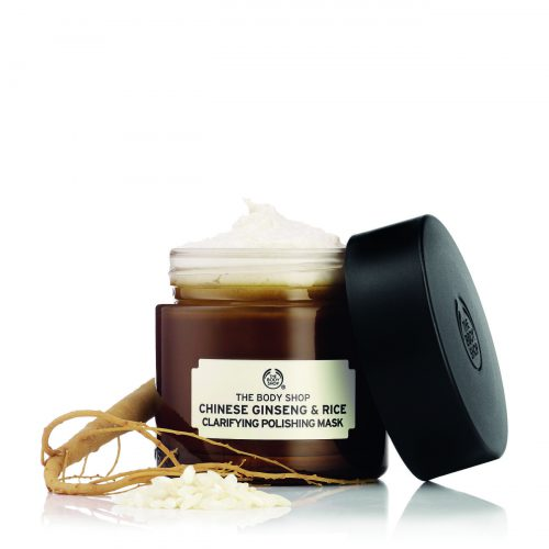 Chinese Ginseng & Rice Classifying   Polishing Mask by The Body Shop