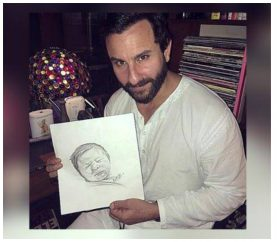 """Kareena thinks he's a lot like me –a cranky, farty yeller!"" Says Saif About Son Taimur"