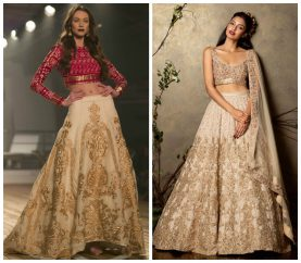 How To Be Glamorous In Gold In The Lehenga Way