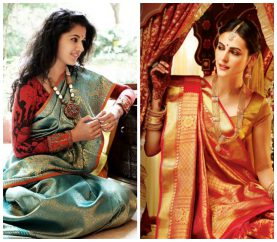 Look Beautiful In These Regal Sarees