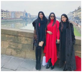 In Pics: Sridevi is Vacationing In Italy With Her Gorgeous Daughters