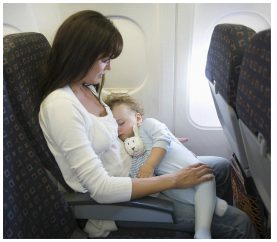 How To Make The First Flight Of Your Baby Less Stressful