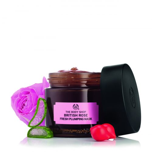 The Body Shop British Rose Fresh   Plumping Mask