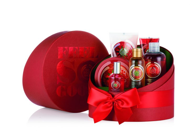 The Body Shop_STRAWBERRY DELUX GIFT    SET