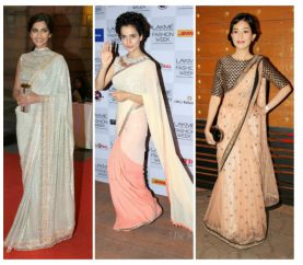 6 Stunning Ways To Drape Your Old Traditional Saree