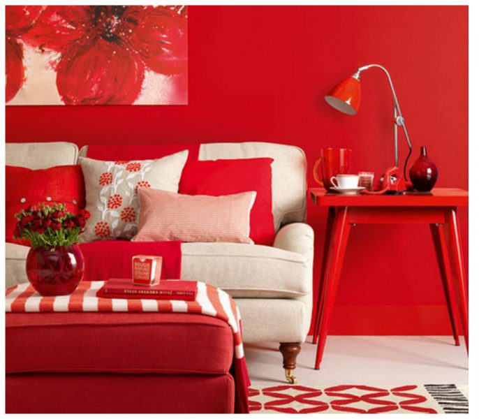 10 Creative Ideas To Add Magic To Your Home With Red