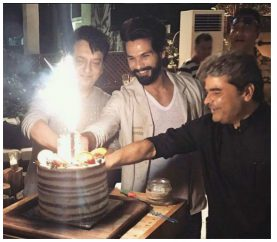 In Pics: Shahid Kapoor's Pre-Birthday Bash