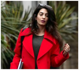 The First Glimpse Of Mom To Be Amal Clooney After George Clooney's Confirmation Of Her Pregnancy