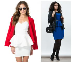 Be Elegant And Stylish In A Peplum Dress