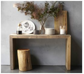 Make The Most Of A Console Table