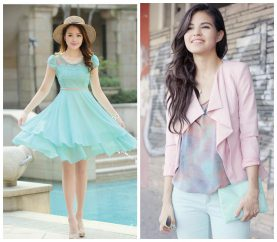 How To Look Cool This Summer In These Pastel Colours
