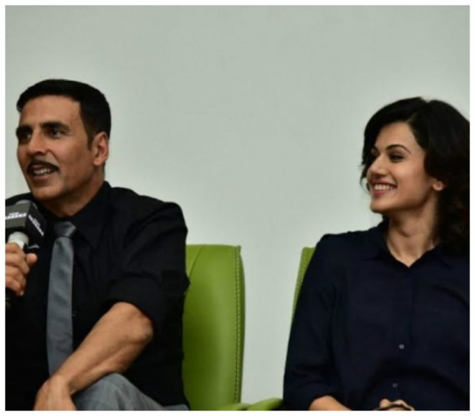 Akshay Kumar And Taapsee Pannu Deliver Power-Packed Self-Defense Techniques