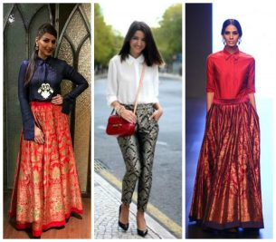 15 Ways To Make An Amazing Style Statement In Brocades