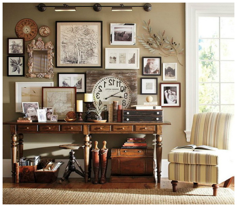 How to redesign your home in vintage style interiors for Redesign home interior