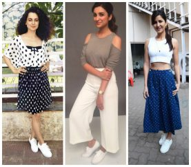 How To Flaunt White Sneakers The Bollywood Way