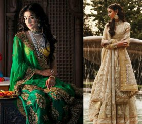 30 Amazing Ways To Drape Your Lehenga Dupatta
