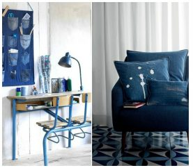 5 Clever Ways To Recycle Old Denim Pants For Home Decor