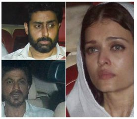 Bollywood Bid A Tearful Goodbye To Aishwarya Rai Bachchan's Father