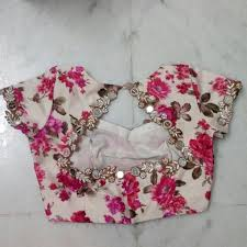 Floral Blouse Designs