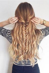 Half-Up-Fishtail