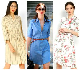 5 Types of Shirt Dresses That Will Rule This season