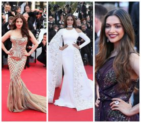 11 Times Bollywood Beauties Slayed On The Red Carpet At Cannes
