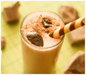 Here's Your All Time Favorite: Chocolate Milk Shake