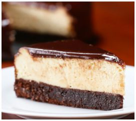 You Don't Need To Be A Chef To Make This Simple Brownie Cheesecake