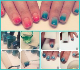 Nail Art Tutorial: DIY Beautiful Ombre Manicure