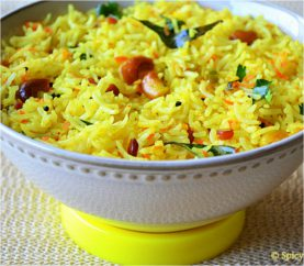 Spruce Up Your Meals With Tangy Mushroom Lemon Rice