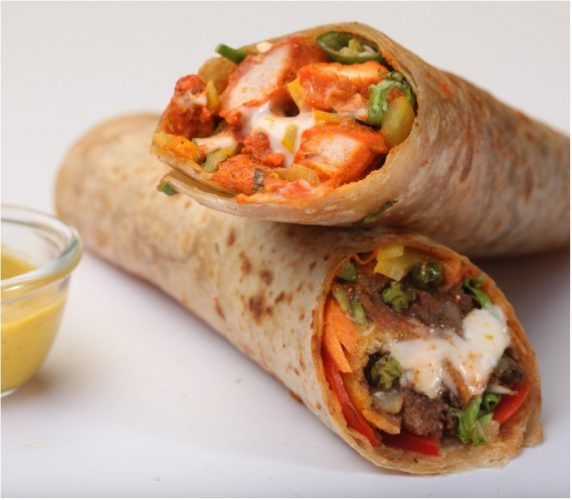 How To Make Lip-Smacking Chicken Kathi Roll At Home