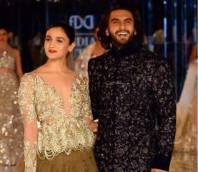 Alia Bhatt, Ranveer Singh Close Manish Malhotra's ICW Show With A Royal Touch