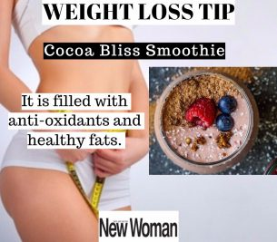 Cocoa Bliss Smoothie For Effective Weight Loss