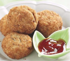 Make Yummy Mushroom Balls To Kill Your Hunger Pangs
