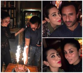 Saif Ali Khan Celebrates His 47th Birthday With Family