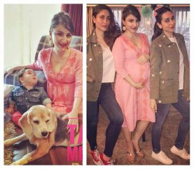 Taimur Steals The Show Again At Soha Ali Khan's Baby Shower