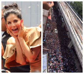 Sunny Leone's Kochi Fans Make Her Feel Special