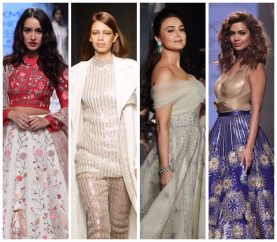 Celebrity Showstoppers Graced The Runway At Lakme Fashion Week Day 3