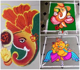 10 Amazing Rangoli Designs To Try For Ganesh Chaturthi