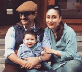 Kareena Kapoor Khan And Saif Ali Khan's Son Taimur's Cutest Vacation Pictures
