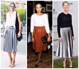 6 Ways To Look Stylish In Pleated Skirts